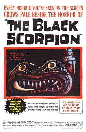 The Black Scorpion - Movie Poster (thumbnail)