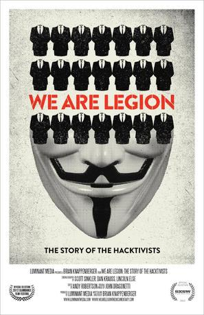 We Are Legion: The Story of the Hacktivists - Movie Poster (thumbnail)