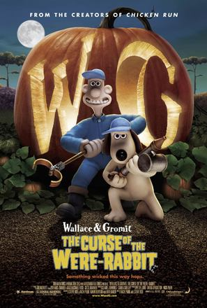 Wallace & Gromit in The Curse of the Were-Rabbit - Movie Poster (thumbnail)