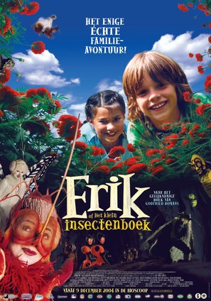 Erik of het klein insectenboek - Dutch Movie Poster (thumbnail)