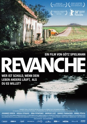 Revanche - German Movie Poster (thumbnail)