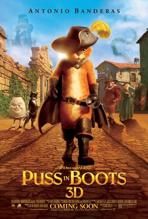 Puss in Boots - Movie Poster (thumbnail)