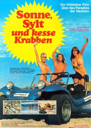 Sonne, Sylt und kesse Krabben - German Movie Poster (thumbnail)