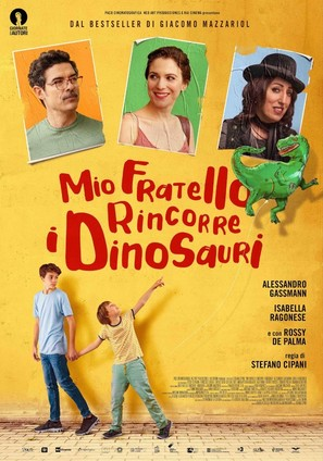 Mio fratello rincorre i dinosauri - Italian Movie Poster (thumbnail)