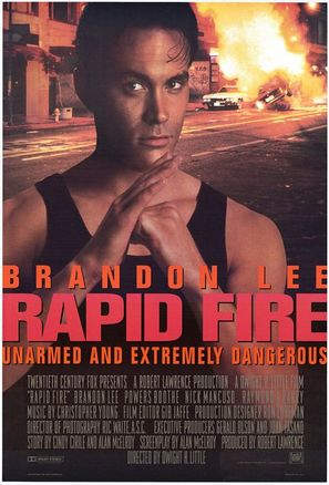 Rapid Fire - Movie Poster (thumbnail)