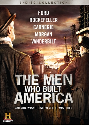"""The Men Who Built America"" - DVD movie cover (thumbnail)"
