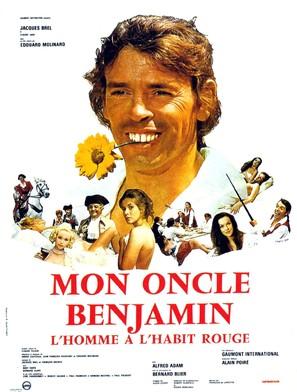 Mon oncle Benjamin - French Movie Poster (thumbnail)