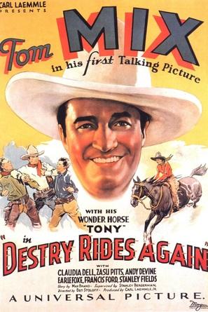 Destry Rides Again - Movie Poster (thumbnail)