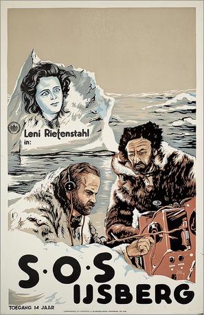 S.O.S. Eisberg - Dutch Movie Poster (thumbnail)
