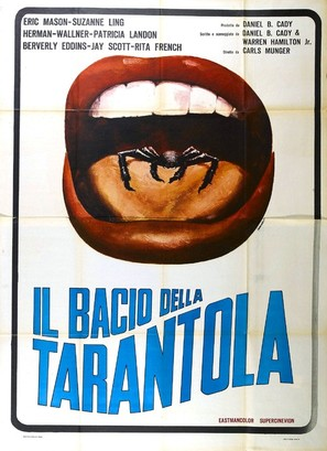 Kiss of the Tarantula - Italian Movie Poster (thumbnail)