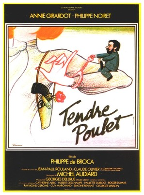 Tendre poulet - French Movie Poster (thumbnail)