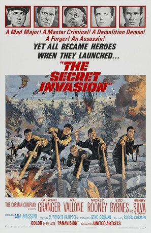 The Secret Invasion - Movie Poster (thumbnail)