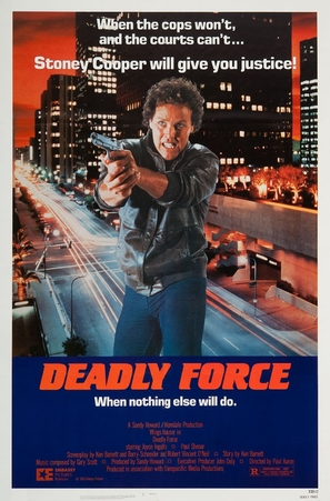 Deadly Force - Movie Poster (thumbnail)