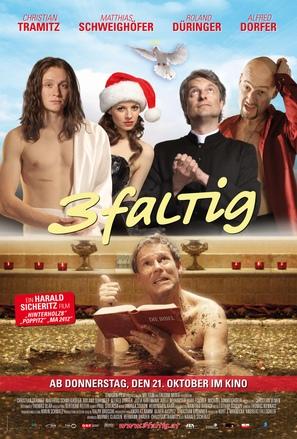 3-faltig - Austrian Movie Poster (thumbnail)