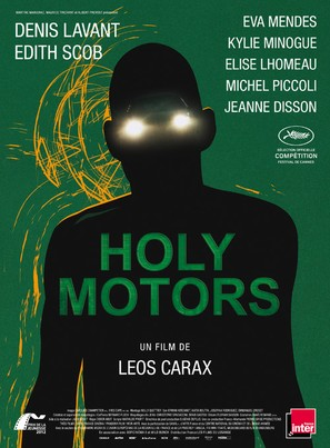 Holy Motors - French Movie Poster (thumbnail)