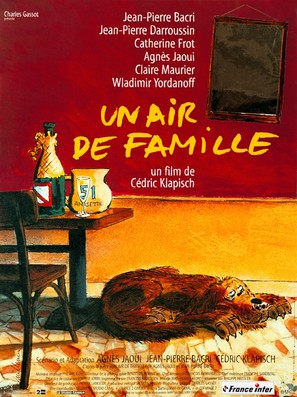 Un air de famille - French Movie Poster (thumbnail)