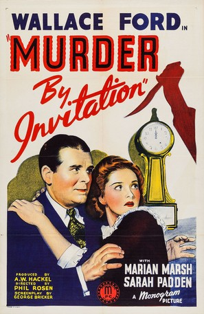 Murder by Invitation - Movie Poster (thumbnail)