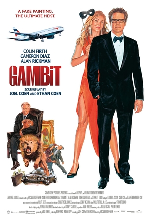 Gambit - British Movie Poster (thumbnail)