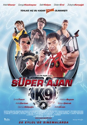 Superajan K9 - Turkish Movie Poster (thumbnail)