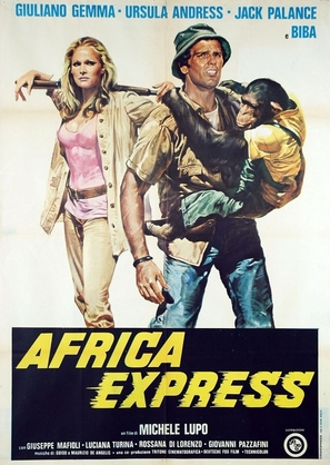 Africa Express - Italian Movie Poster (thumbnail)