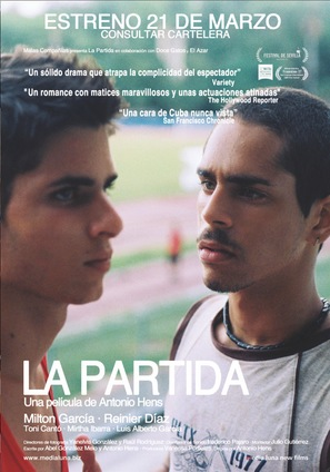 La partida - Spanish Movie Poster (thumbnail)