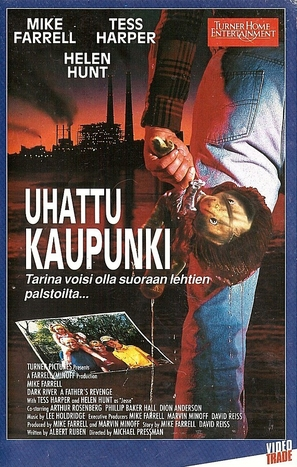 Incident at Dark River - Finnish VHS movie cover (thumbnail)