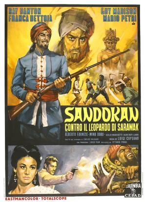 Sandokan contro il leopardo di Sarawak - Italian Movie Poster (thumbnail)