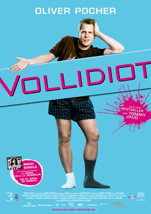 Vollidiot - German Movie Poster (thumbnail)