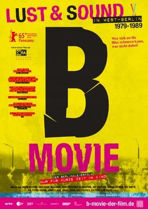 B-Movie: Lust & Sound in West-Berlin 1979-1989 - German Movie Poster (thumbnail)