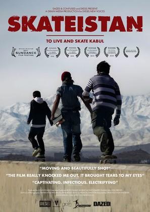 Skateistan: To Live and Skate Kabul - British Movie Poster (thumbnail)