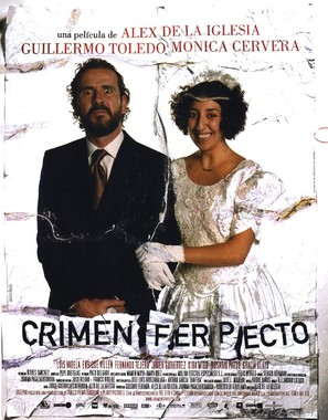 Crimen ferpecto - Spanish Movie Poster (thumbnail)