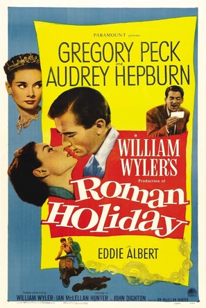 Roman Holiday - Movie Poster (thumbnail)