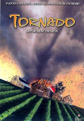Nature Unleashed: Tornado - Spanish DVD cover (thumbnail)