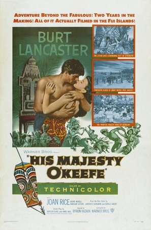 His Majesty O'Keefe - Movie Poster (thumbnail)