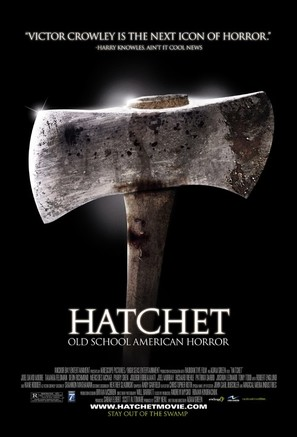 Hatchet - Movie Poster (thumbnail)