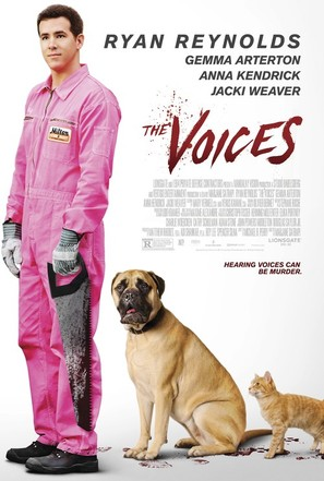 The Voices - Movie Poster (thumbnail)