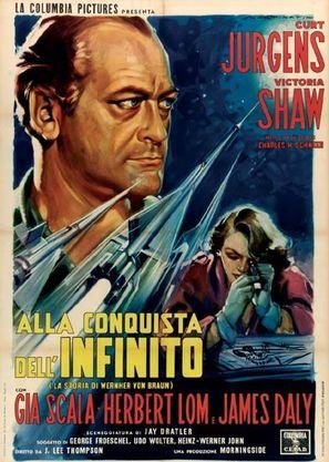 Wernher von Braun - Italian Movie Poster (thumbnail)