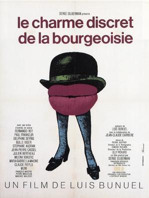 Le charme discret de la bourgeoisie - French Movie Poster (thumbnail)