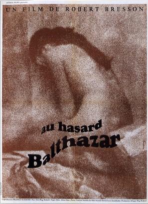 Au hasard Balthazar - French Movie Poster (thumbnail)