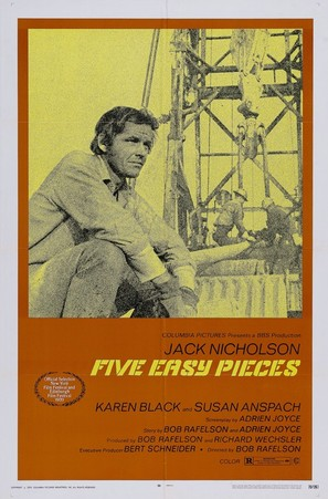 Five Easy Pieces - Movie Poster (thumbnail)