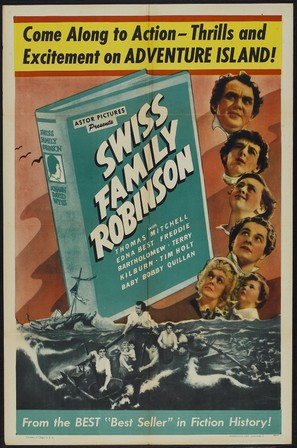 Swiss Family Robinson - Movie Poster (thumbnail)