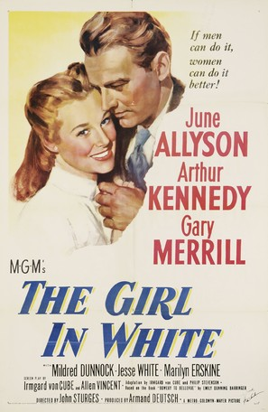 The Girl in White - Movie Poster (thumbnail)