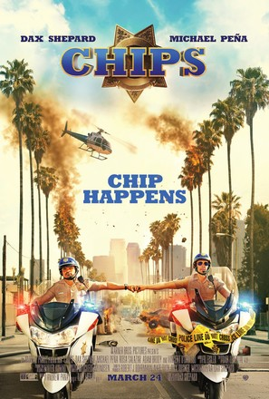 CHiPs - Theatrical movie poster (thumbnail)