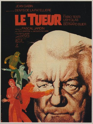 Le tueur - French Movie Poster (thumbnail)