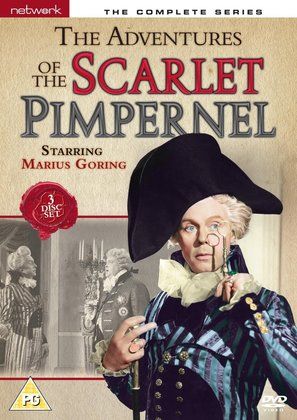 """""""The Scarlet Pimpernel"""" - British DVD movie cover (thumbnail)"""