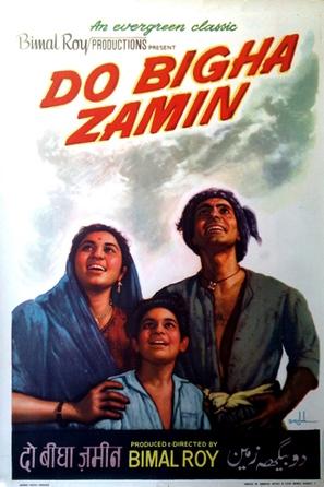 Do Bigha Zamin - Indian Movie Poster (thumbnail)