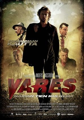 Vares - Kaidan tien kulkijat - Finnish Movie Poster (thumbnail)