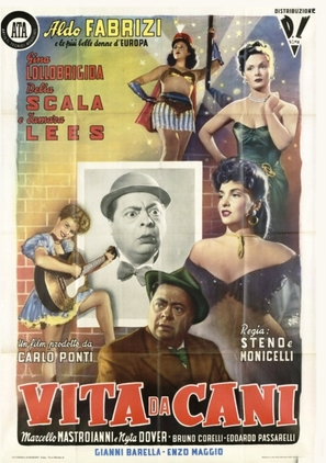Vita da cani - Italian Movie Poster (thumbnail)