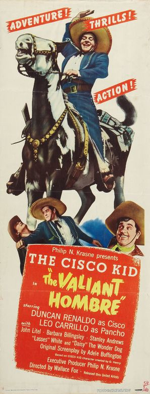 The Valiant Hombre - Movie Poster (thumbnail)