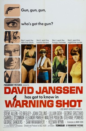 Warning Shot - Movie Poster (thumbnail)